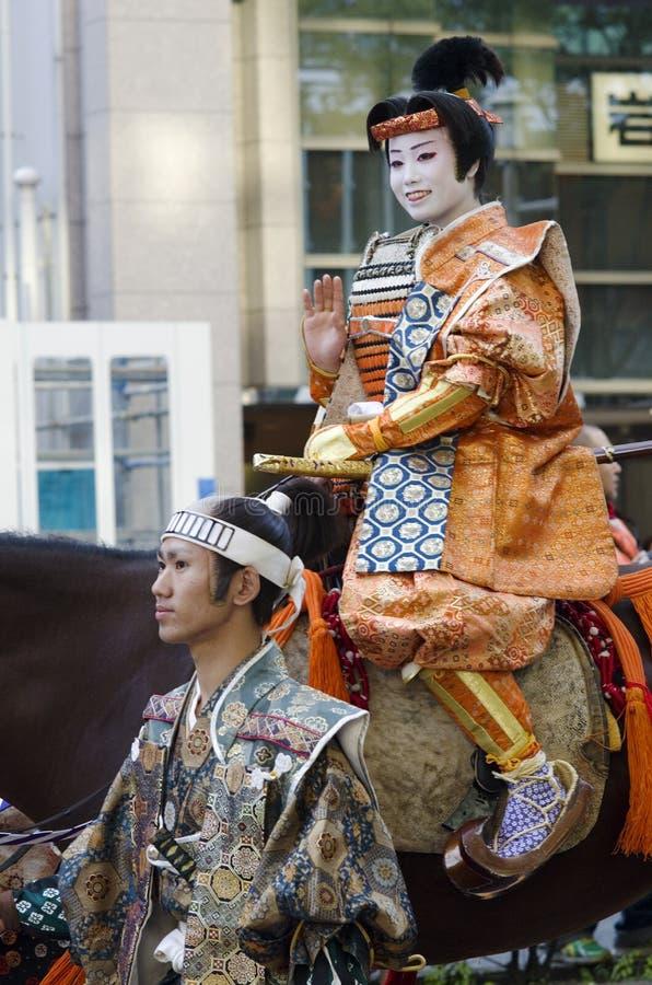 Drottning på den Nagoya festivalen, Japan fotografering för bildbyråer