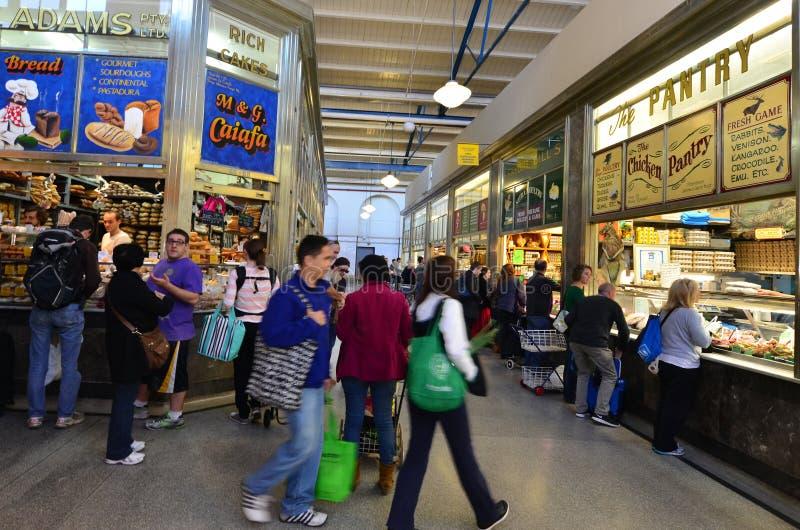 Drottning Victoria Market - Melbourne royaltyfria bilder