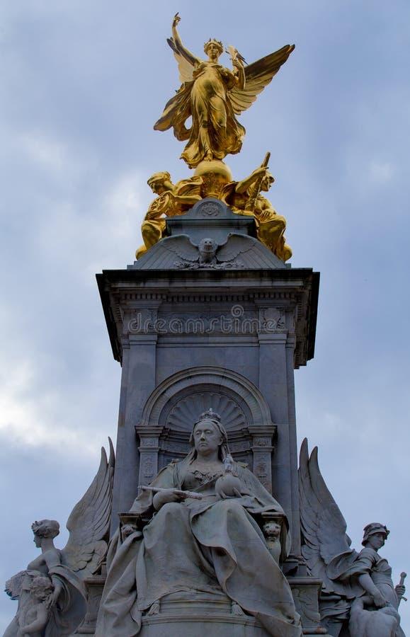 Drottning Victoria Memorial London royaltyfria bilder