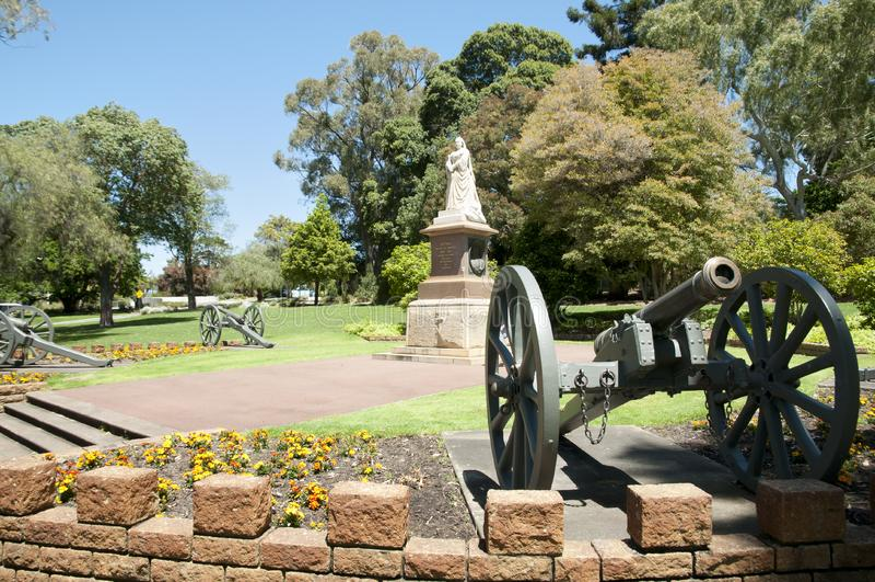Drottning Victoria Memorial - Perth - Australien arkivbild
