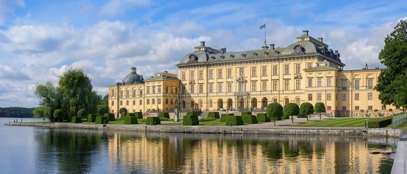 drottningholm宫殿斯德哥尔摩 免版税库存照片