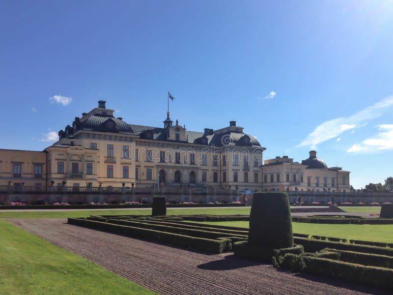Drottningholm palace stock photography