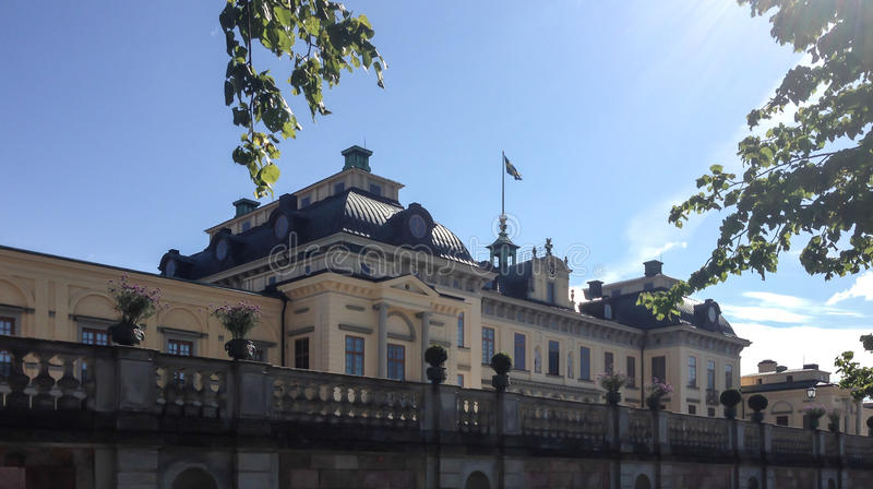 Drottningholm palace stock photos
