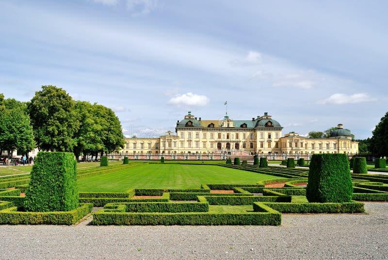 drottningholm stockholm arkivfoto
