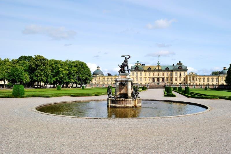 drottningholm stockholm royaltyfri foto