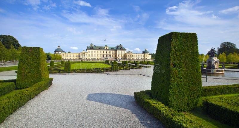 Drottningholmkasteel royalty-vrije stock foto