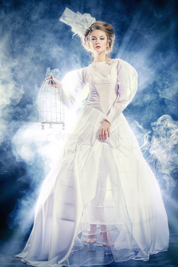 Drottningkvinna arkivfoton
