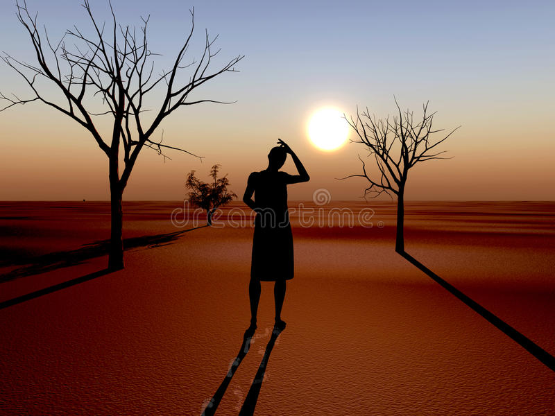 Download Drought stock illustration. Image of dramatic, failure - 17470267