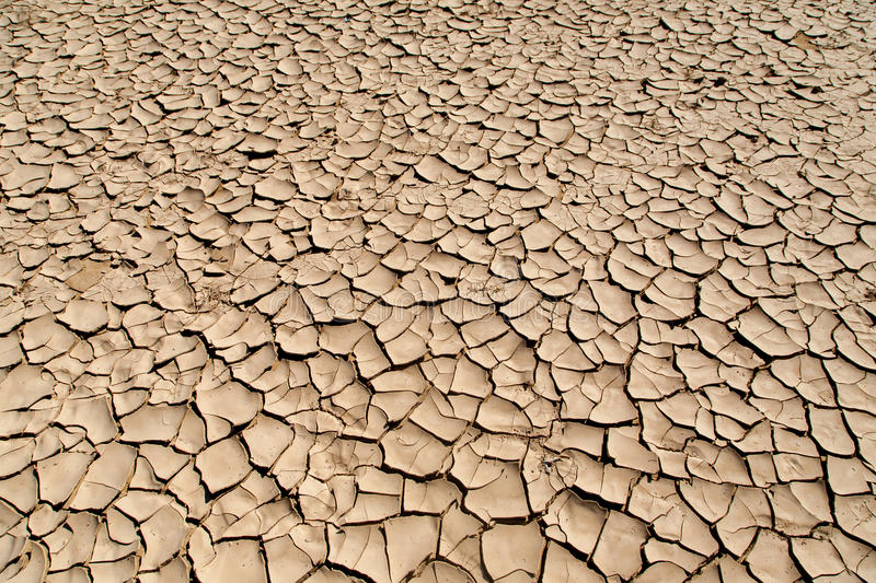 Drought and Desertification. Land degradation, desertification and drought in the Red Sea governorate in Marsa Alam, Egypt royalty free stock photos