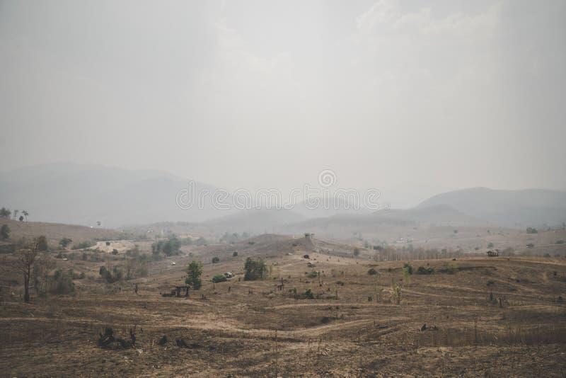 Drought global warming. Arid, destroyd stock photo