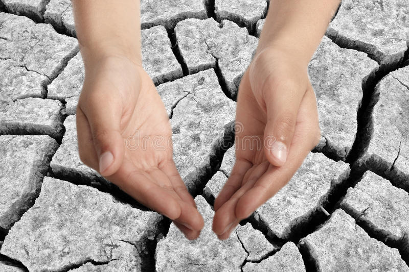 Download Drought stricken land stock photo. Image of background - 9532288