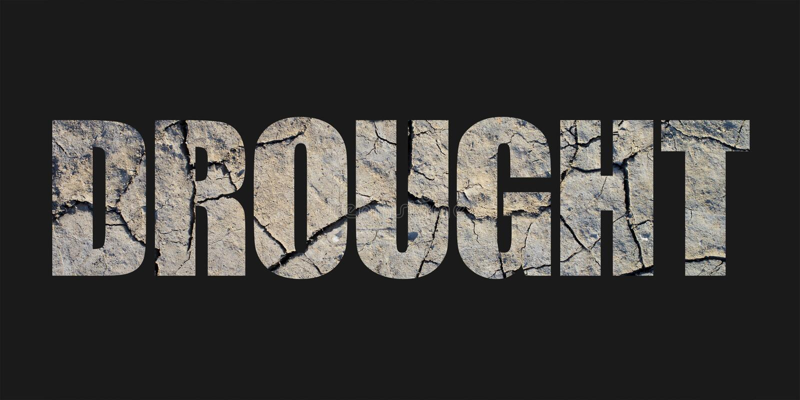 Drought vector illustration