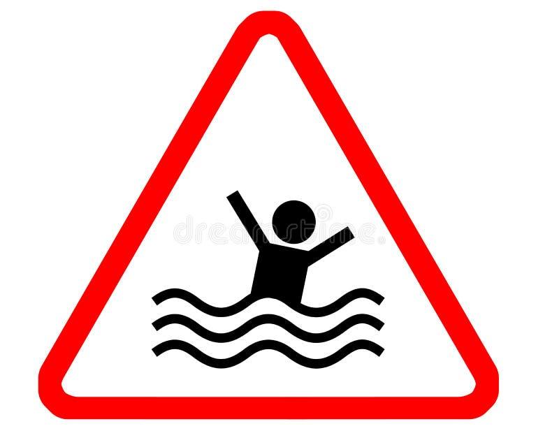 Drowning stock illustration