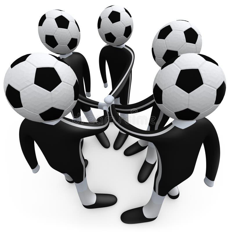 drużyna sportu royalty ilustracja