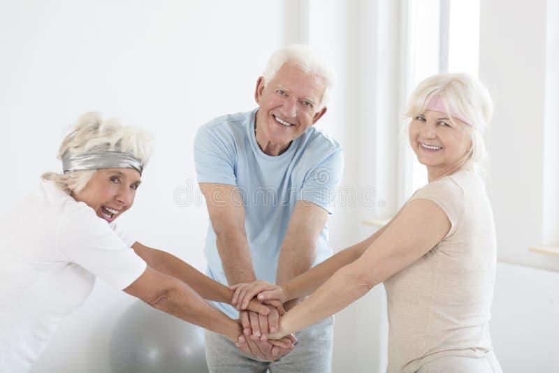 Drużyna starsze osoby zdjęcie stock