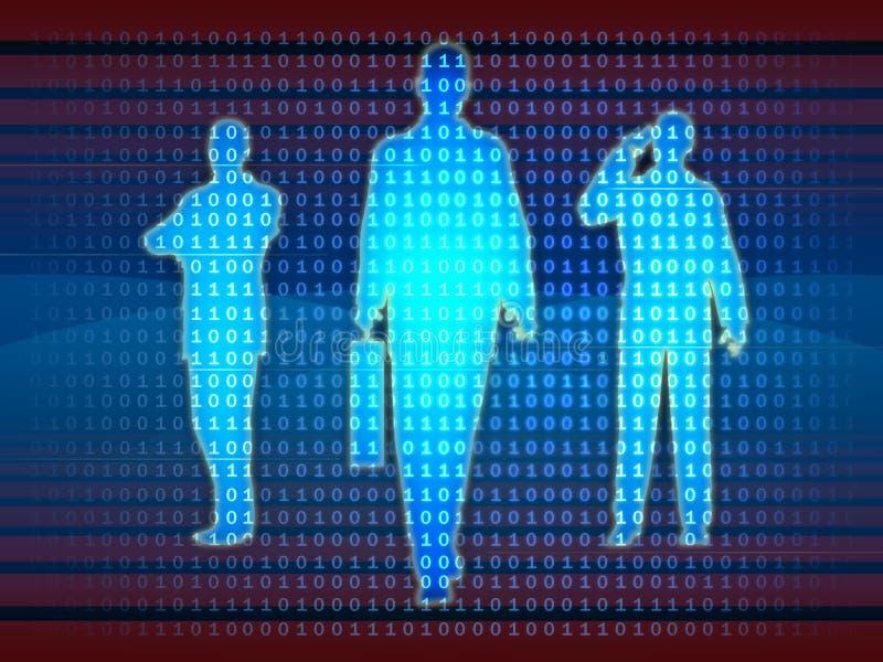 drużyna technologii informacji ilustracji