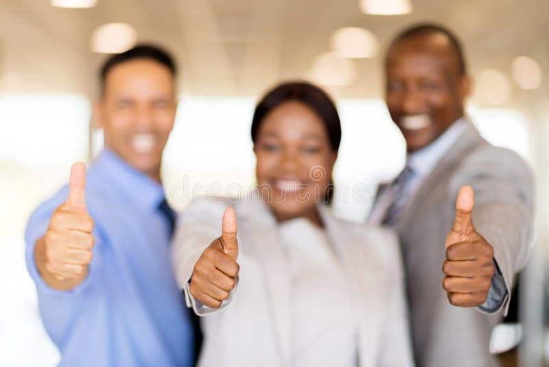 drużynowe biznes aprobaty zdjęcie stock