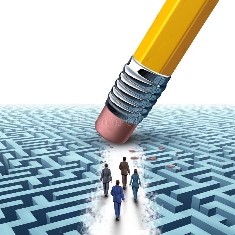Drużynowy zarządzanie przedsiębiorstwem ilustracji