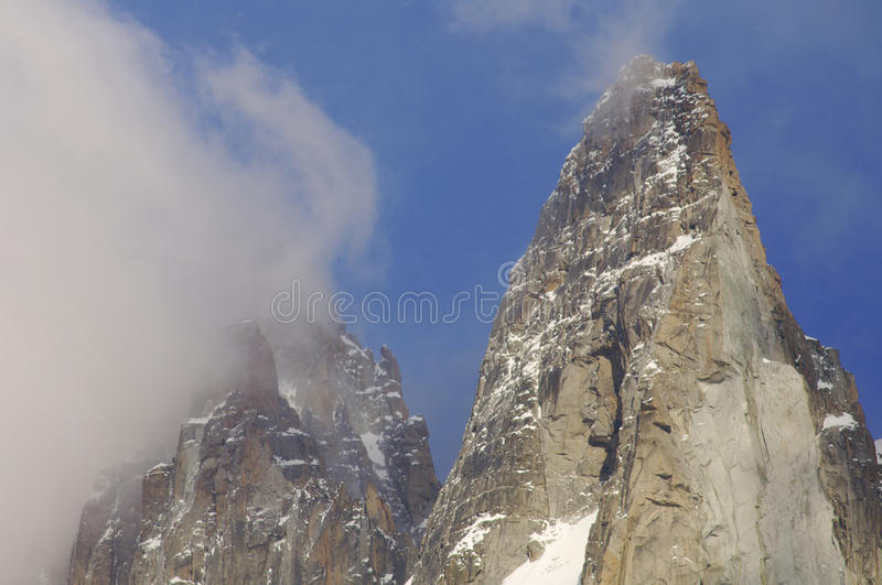 Download Dru Peak stock photo. Image of cold, cliff, high, mystery - 9429998