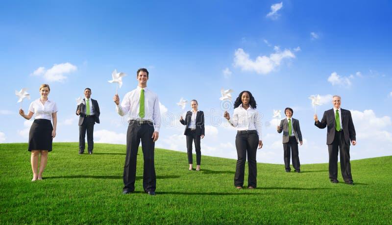 Download Drużyna Zieleni Ludzie Biznesu Zdjęcie Stock - Obraz złożonej z samiec, bizneswoman: 41953554
