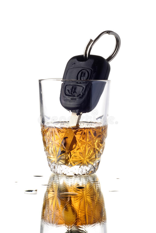 drucken chaufför arkivfoto