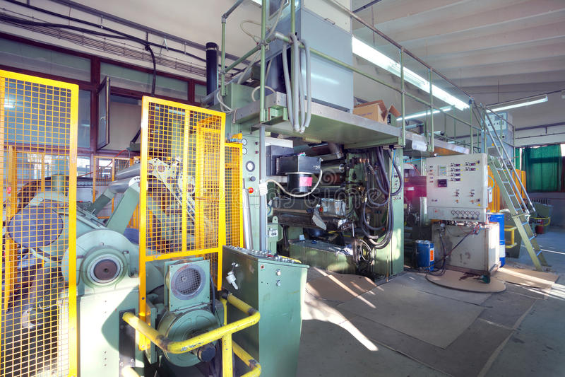 Druckenmaschine lizenzfreie stockfotos