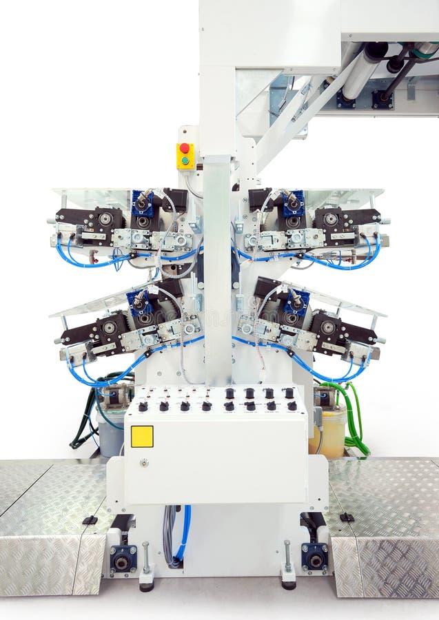 Druckenmaschinendetails lizenzfreies stockbild