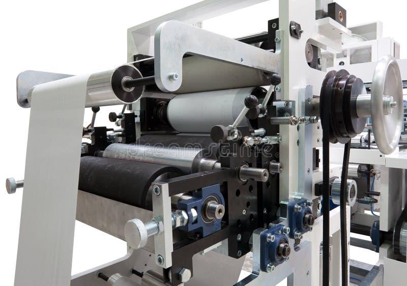 Druckenmaschinendetails lizenzfreie stockfotos