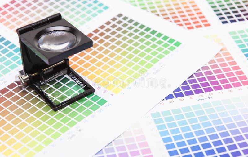 Download Drucker-Messen stockfoto. Bild von vergrößerungsglas - 27728908