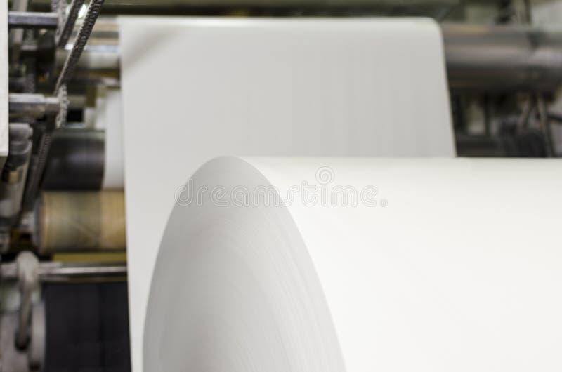 Druckmaschinemaschine lizenzfreie stockfotografie