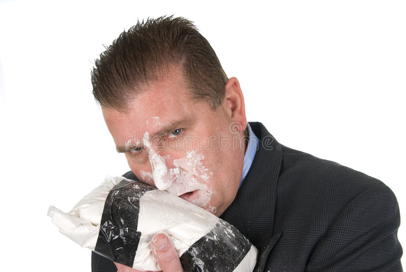 Download Drug addict businessman stock image. Image of addiction - 7685419