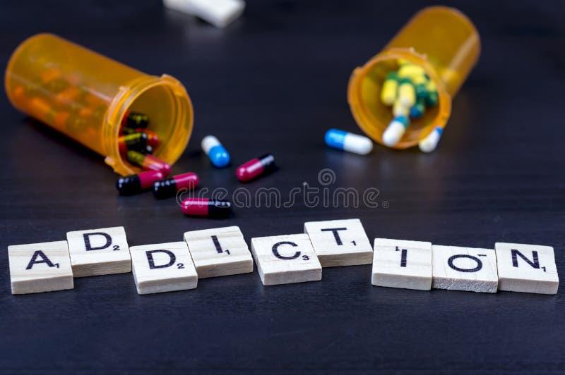 Drug addiction stock images