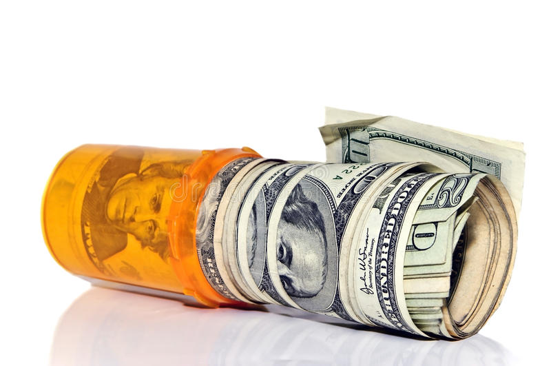 Drug Money royalty free stock images