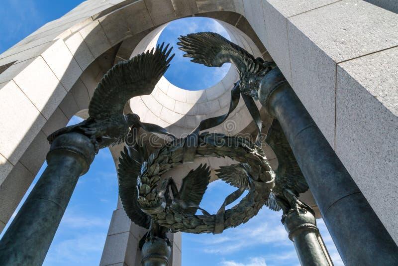 Druga Wojna Światowa pomnik zdjęcia stock