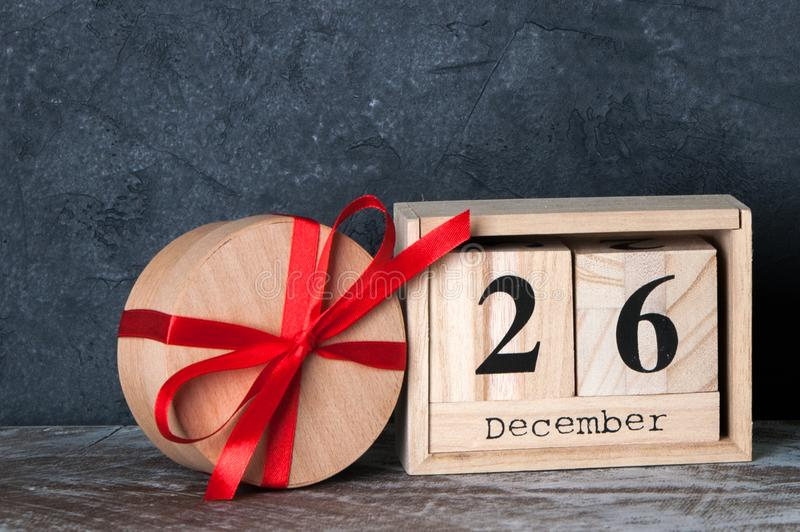 Drugi dzień Świąt Bożego Narodzenia sprzedaż zdjęcie royalty free