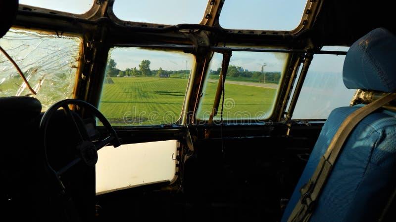 drugi pilot domena zdjęcie stock
