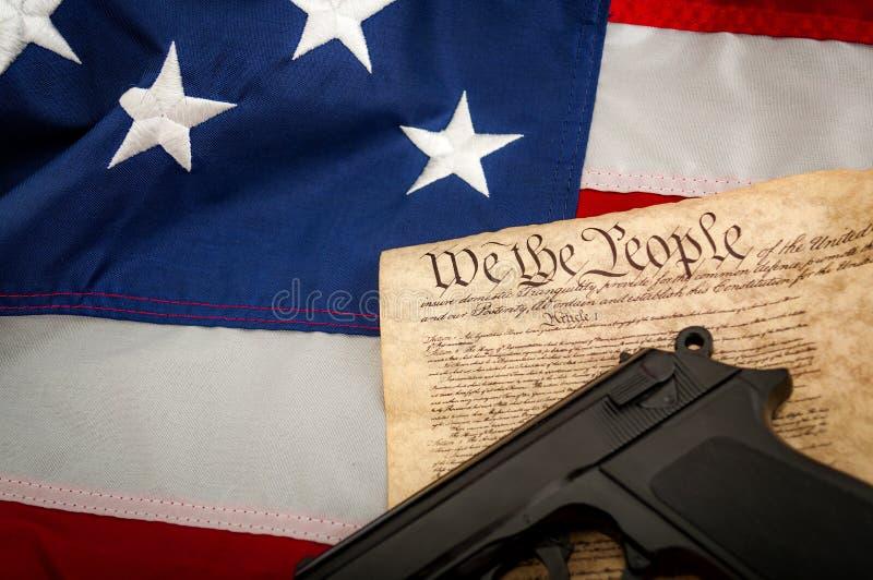Drugi poprawka zdjęcie stock