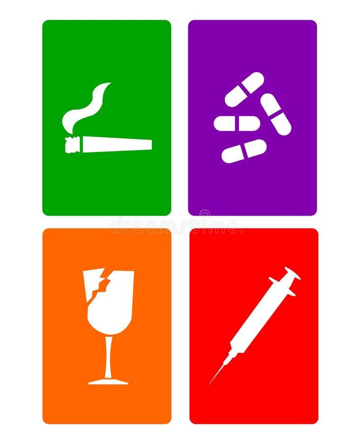 Drugs royalty free illustration