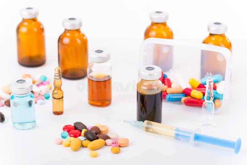 Drugs royalty free stock photo