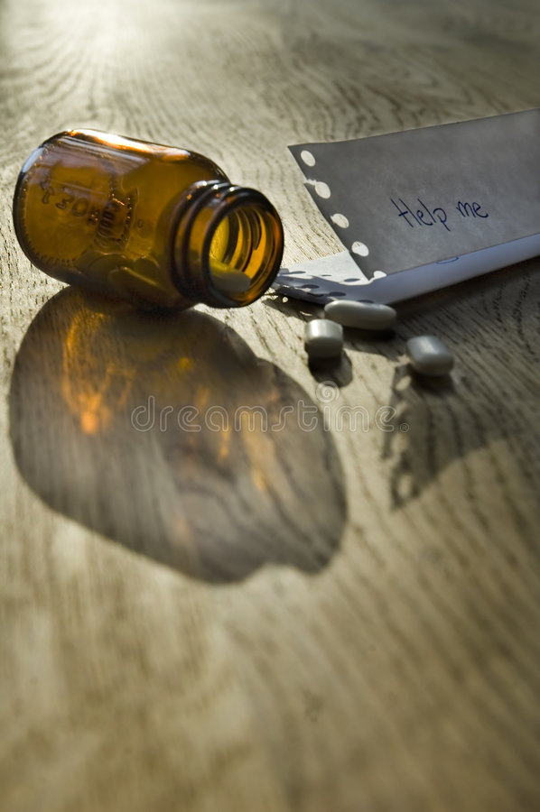 Drugs Help Stock Image