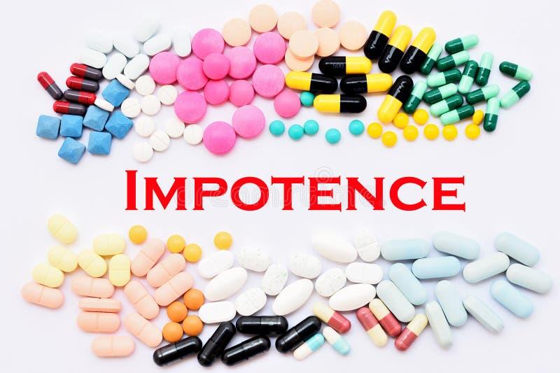 Impotence treatment royalty free stock image