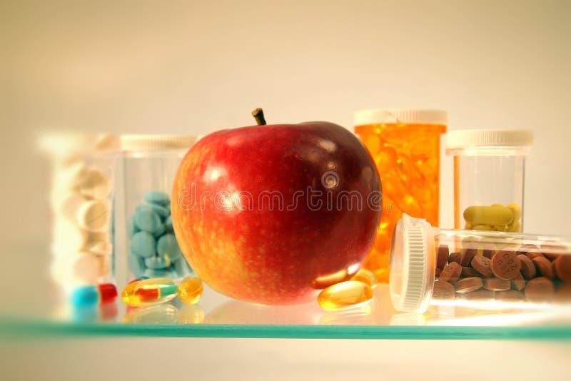 Drugs op de plank royalty-vrije stock foto's