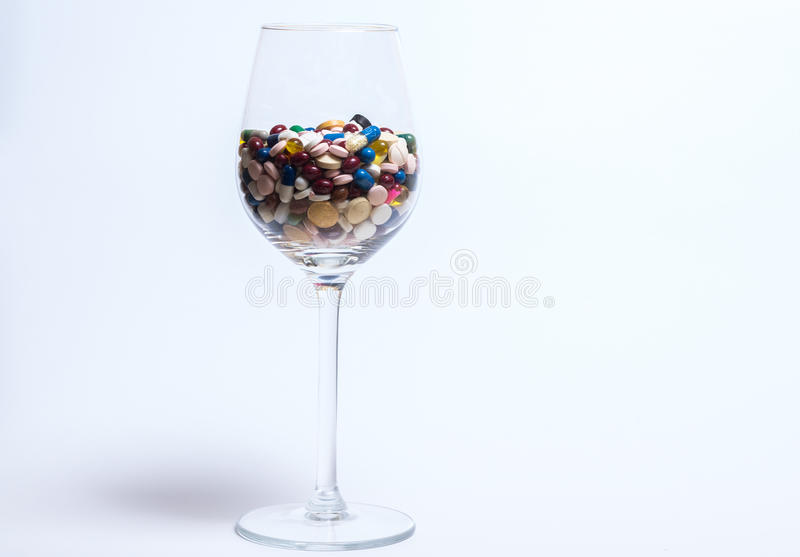 Drugs and pills stock photos