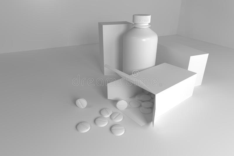 Drugs stock image