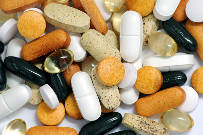 Download Drugs and vitamins stock image. Image of multivitamin - 3945905