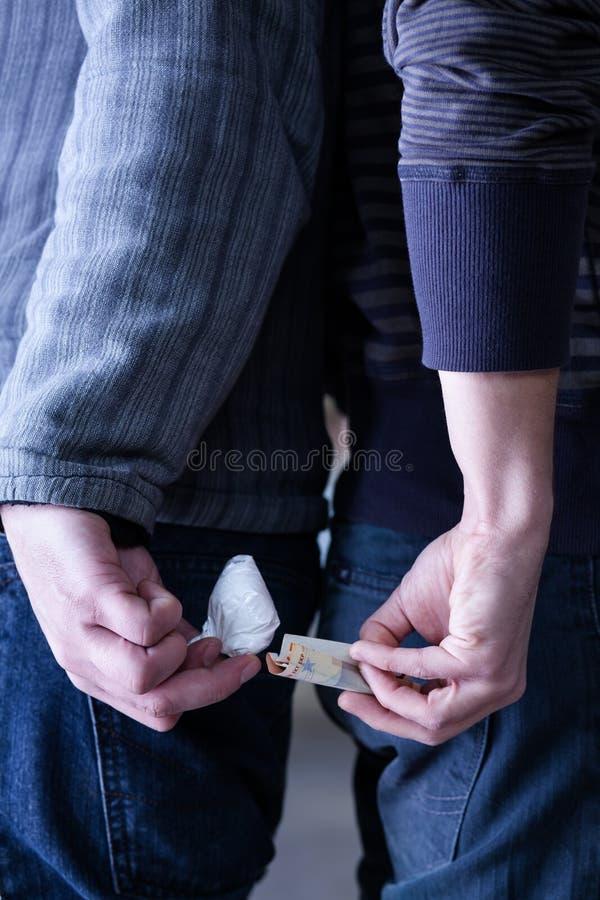 Drugshandel royalty-vrije stock fotografie