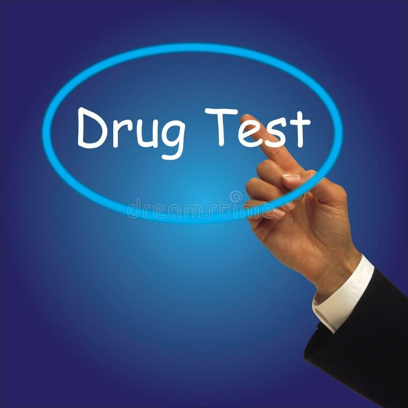 DRUGtest stock afbeelding