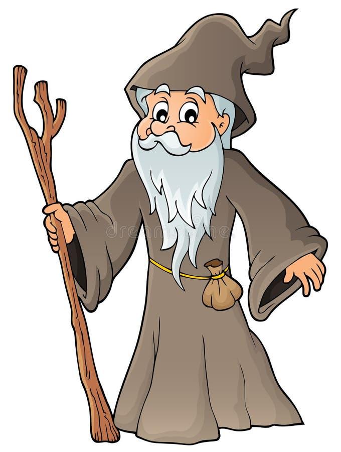 Druid εικόνα 1 θέματος διανυσματική απεικόνιση