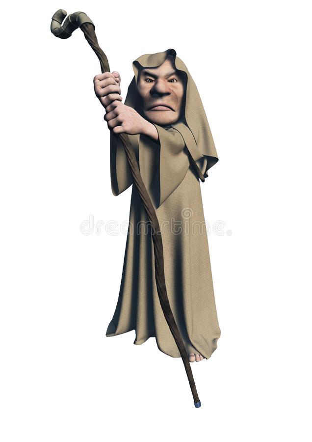 druid ο απόκρυφος Toon απεικόνιση αποθεμάτων
