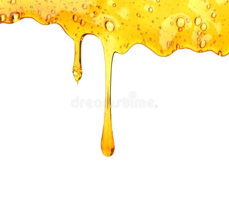 Druipende honing royalty-vrije illustratie